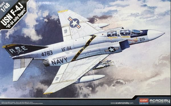 "Academy - USN F-4J ""VF-84 Jolly Rogers"" - 1/48"
