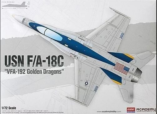 "Academy - USN F/A-18C ""VFA-192 Golden Dragons"""