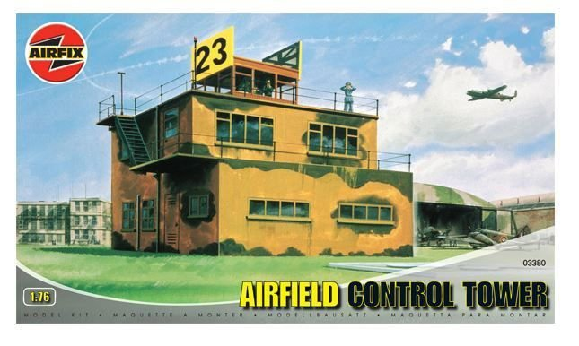 AIRFIX - - AIRFIELD CONTROL TOWER - 1/76
