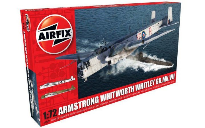 AIRFIX - ARMSTRONG WHITWORTH WHITLEY GR.MK.VII - 1/72