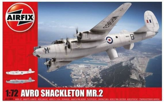 AIRFIX - AVRO SHACKLETON MR.2 - 1/72