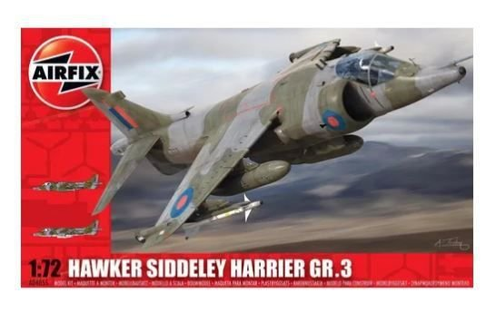 AIRFIX - BAE HARRIER GR. 3 - 1/72