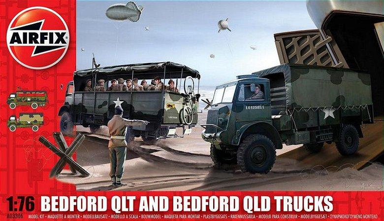 AIRFIX - BEDFORD QLT & QLD TRUCKS - 1/76