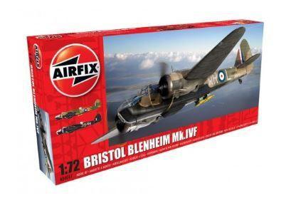 AIRFIX - BRISTOL BLENHEIM MK.I FIGHTER - 1/72