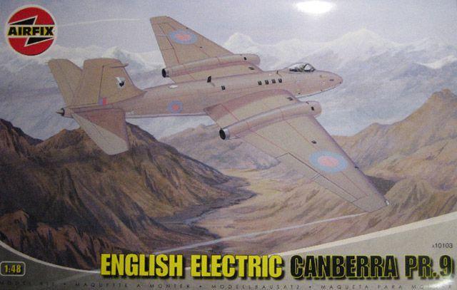 AIRFIX - ENGLISH ELECTRIC CANBERRA PR.9 - 1/48