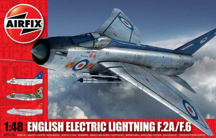 AIRFIX - ENGLISH ELECTRIC LIGHTNING F2A/F6 - 1/48