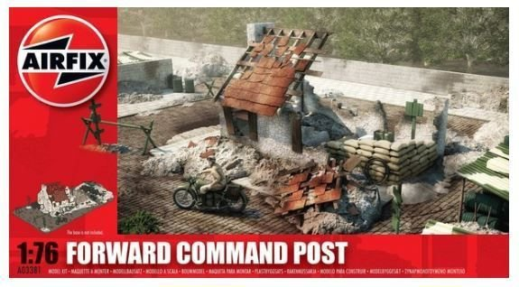 AIRFIX - FORWARD COMMAND POST - 1/76