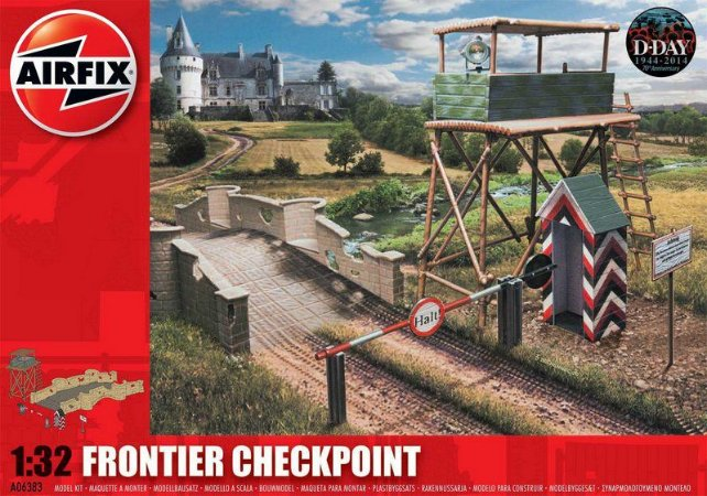 AIRFIX - FRONTIER CHEKPOINT - 1/32