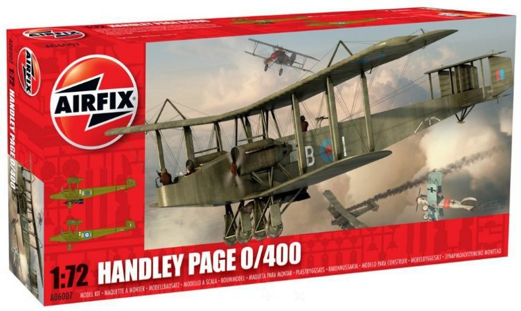 AIRFIX - HANDLEY PAGE 0/400 - 1/72