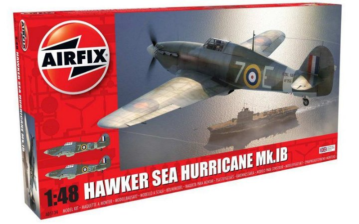 AIRFIX - HAWKER SEA HURRICANE MK.IB - 1/48