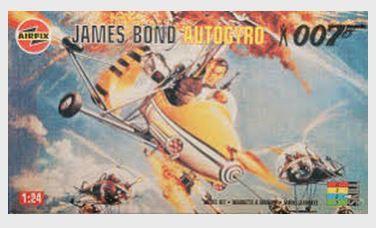 AIRFIX - JAMES BOND AUTOGIRO - 1/24