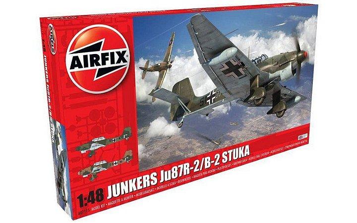 AIRFIX - JUNKERS JU87R-2/B-2 Stuka - 1/48