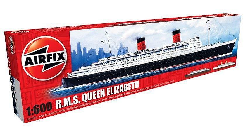 AIRFIX - RMS QUEEN ELIZABETH I - 1/600