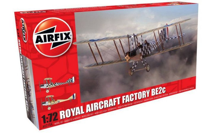 AIRFIX - ROYAL AIRCRAFT FACTORY BE2C SCOUT - 1/72