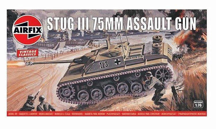 AIRFIX - STUG III 75MM ASSAULT GUN - 1/76