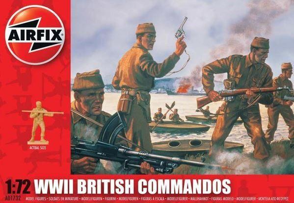 AIRFIX - WWII BRITISH COMMANDOS - 1/72