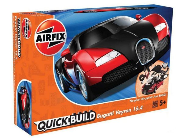 AIRFIX QUICK BUILD - BUGATTI VEYRON