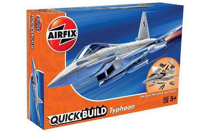 AIRFIX QUICK BUILD - EUROFIGHTER TYPHOON