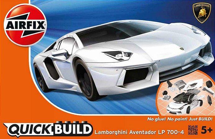AIRFIX QUICK BUILD - LAMBORGHINI AVENTADOR