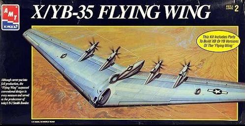 AMT ERTL - NORTHROP XB-35 FLYING WING - 1/72