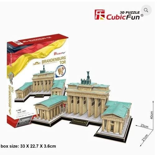 CUBICFUN - BRANDENBURG GATE (GERMANY) - PUZZLE 3D