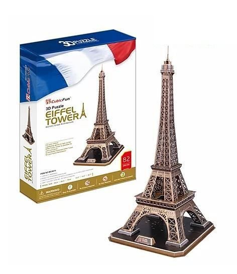 CUBICFUN - EIFFEL TOWER (FRANCE) - PUZZLE 3D