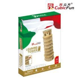 CUBICFUN - LEANING TOWER (ITALY) - PUZZLE 3D