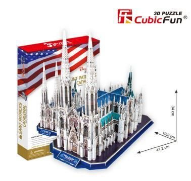 CUBICFUN - ST. PATRICKS CATHEDRAL (USA) - PUZZLE 3D