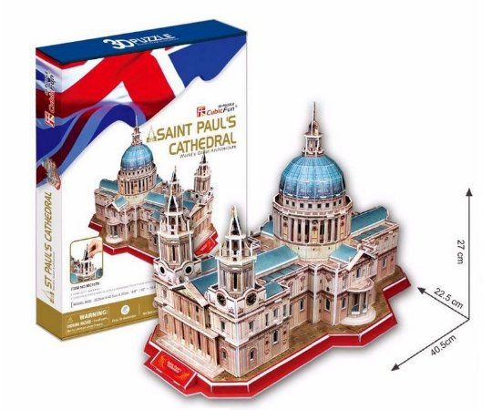 CUBICFUN - ST. PAUL'S CATHEDRAL (LONDRES, INGLATERRA) - PUZZLE 3D