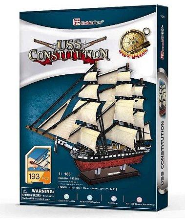 CUBICFUN - USS CONSTITUTION - PUZZLE 3D