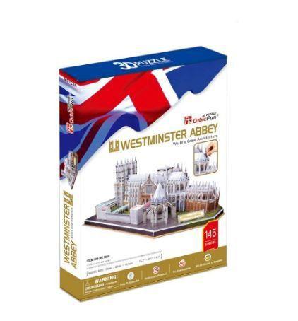 CUBICFUN - WESTMINSTER ABBEY (UK) - PUZZLE 3D