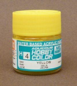 Gunze - Aqueous Hobby Colors 004 - Yellow (Gloss)