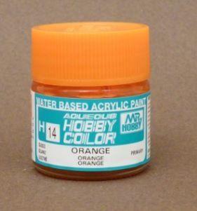 Gunze - Aqueous Hobby Colors 014 - Orange (Gloss)
