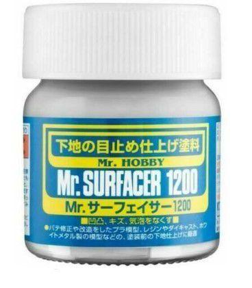 GUNZE - MR. SURFACER 1200 - PRIMER CINZA 40ml