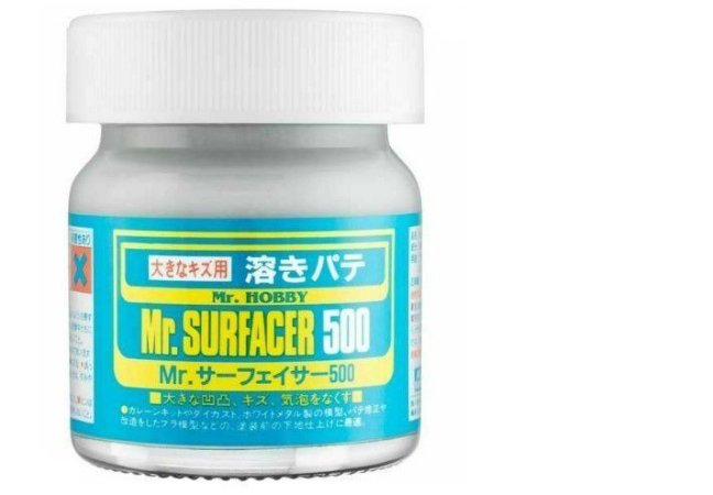 GUNZE - MR. SURFACER 500 - PRIMER CINZA 40ml