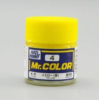Gunze - Mr.Color 004 - Yellow (Gloss)