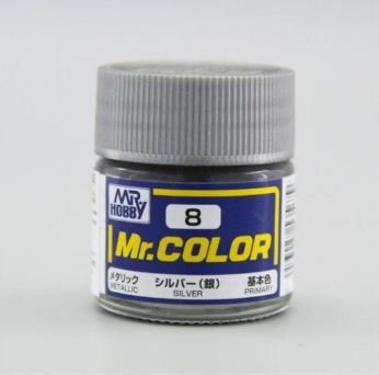 Gunze - Mr.Color 008 - Silver (Metallic)
