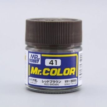 Gunze - Mr.Color 041 - Red Brown (Semi-Gloss)