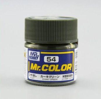 Gunze - Mr.Color 054 - Khaki Green (Semi-Gloss)