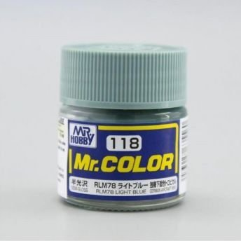 Gunze - Mr.Color 118 - Light Blue (Semi-Gloss)