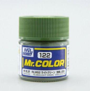 Gunze - Mr.Color 122 - RLM82 Light Green (Semi-Gloss)