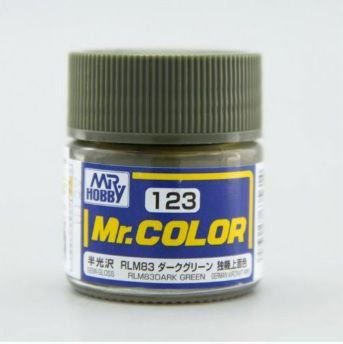 Gunze - Mr.Color 123 - RLM83 Dark Green (Semi-Gloss)