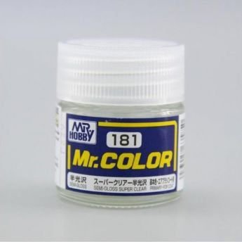 Gunze - Mr.Color 181 - Semi-Gloss Super Clear