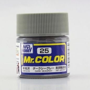 Gunze - Mr.Color 25 - Dark Seagray (Semi-Gloss)