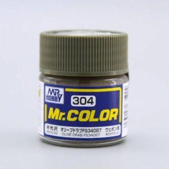 Gunze - Mr.Color 304 - Olive Drab FS34087 (Semi-Gloss)