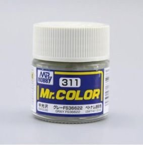 Gunze - Mr.Color 311 - Gray FS36622 (Semi-Gloss)