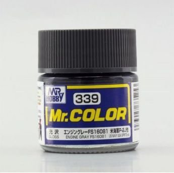 Gunze - Mr.Color 339 - Engine Gray FS16081 (Gloss)
