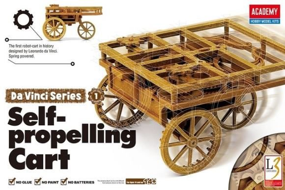 Academy - Da Vinci's Self-Propelling Cart