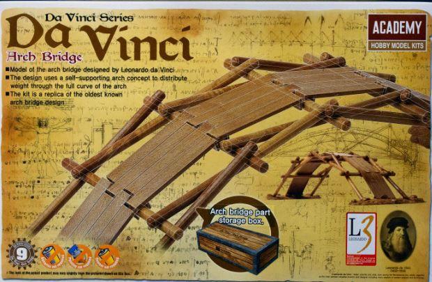 Academy - Da Vinci's Arch Bridge