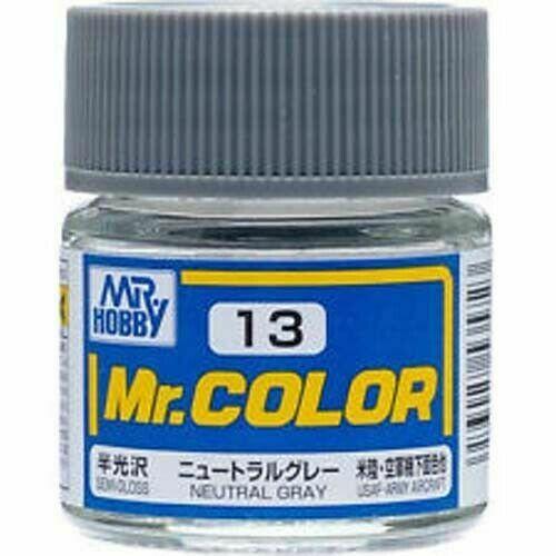 Gunze - Mr.Color 013 - Neutral Gray (Semi-Gloss)